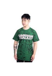 Camiseta Guardiões Da Galáxia Rocket Verde