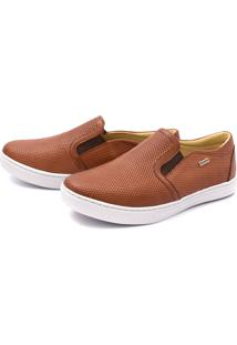 Sapatênis Slip On Whisky Diamond