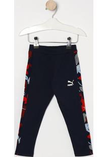 Legging Classics Aop - Azul Marinho & Vermelhapuma
