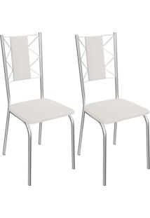 Kit Com 2 Cadeiras Kappesberg Lisboa - 2C076Cr