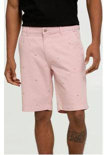 Bermuda Masculina Sarja Estampada Mr