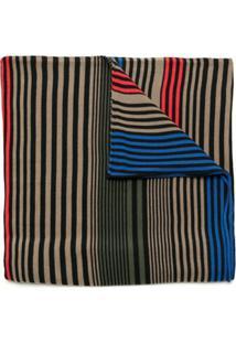 Osklen Cachecol Mixed Stripes - Estampado