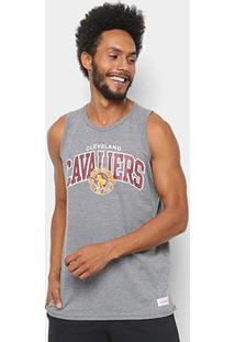 Regata Nba Cleveland Cavaliers Mitchell & Ness Team Arch Masculina - Masculino
