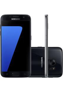 """Smartphone Samsung Galaxy S7 Sm-G930 Preto - 12Mp - 32Gb - 5.1"""" - 4G - Android 6.0"""
