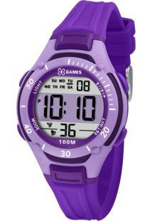 Relógio Pulso X Games Feminino - Quartz Digital - Xkppd014-Bxux