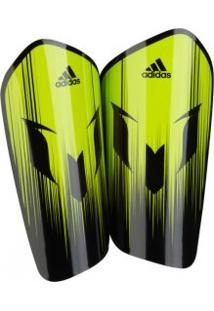 Caneleira Adidas Messi 10 Lesto Vrd/Pto - Adidas