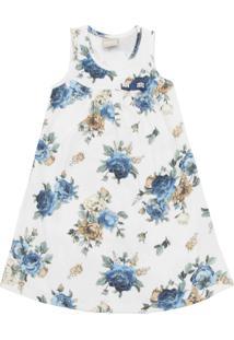 Vestido Milon Floral Branco