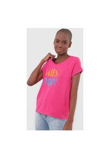 Camiseta Guess Mood Pink