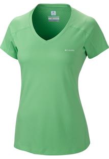 Camiseta Zero Rules Mc Fem Al6914 - Columbia