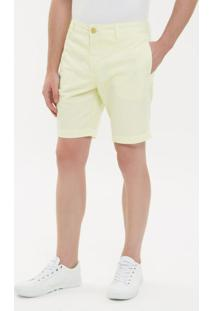 Bermuda Color Chino - Amarelo Claro - 36