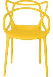Cadeira Allegra Amarela - Rivatti