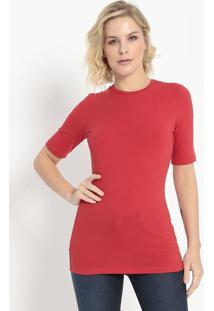 Camiseta Lisa- Vermelha- Colccicolcci