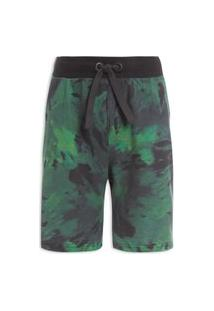 Bermuda Masculina Eco Tie Green - Verde