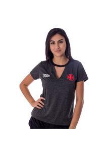 Camiseta Vasco Pilus Feminina
