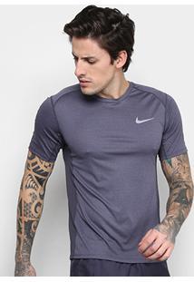 587c79a53bb19 Camiseta Nike Dri-Fit Miler Ss Masculina - Masculino-Mescla