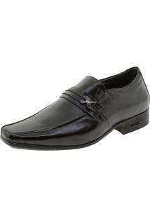 Sapato Masculino Social 3D Executive Jota Pe - 74455 Preto 01 38