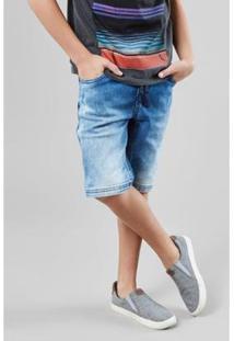 Bermuda Infantil Jeans Estique-Se Capão Reserva Mini Masculina - Masculino