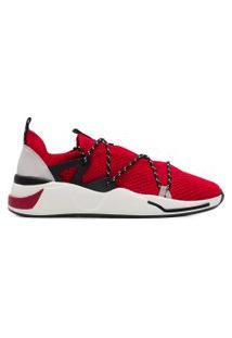 Tênis Masculino Beat Lace Knit Alok - Vermelho