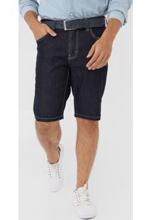 Bermuda Jeans Colcci Reta Noah Azul-Marinho - Kanui