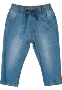 Calça Jeans Menino Azul