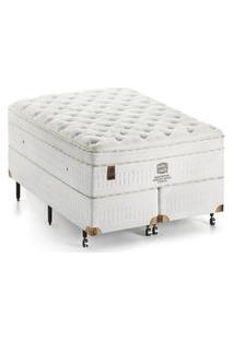 Cama Box King Soho Ultra Completo D34 Ultra Macio 193X203Cm