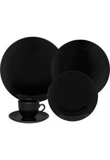 Aparelho De Jantar Black Com 20 Peças Ref-J613601519