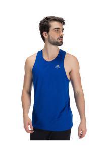 Camiseta Regata Adidas Own The Run Sng - Masculina - Azul