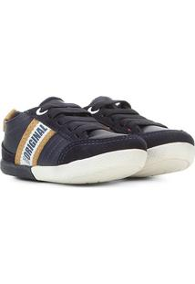Sapato Infantil Klin Baby Flyer Masculino - Masculino-Marinho