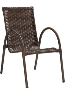 Cadeira Priscila Ii Marrom