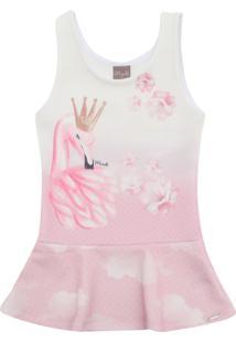 Vestido Mundi Flamingo Rosa