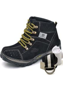 Bota Dexshoes Kit Adventure Preto