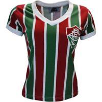 90c95865c3 Camisa Liga Retrô Fluminense Mundial 1952 Feminino - Feminino
