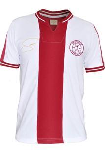 Camisa Retrô Mania Desportiva Ferroviária 1980 - Geovani Silva - Masculino