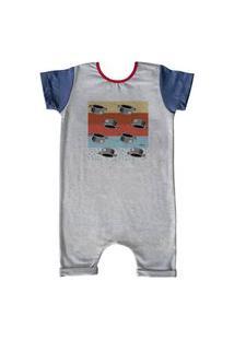 Pijama Curto Comfy Menino Maluquinho Listras