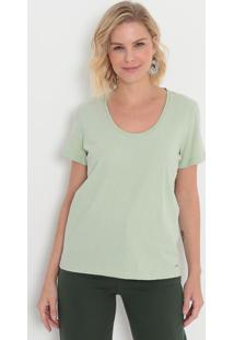 Camiseta Lisa- Verde Claro- Colccicolcci