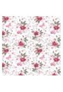 Papel De Parede Adesivo Flores E Borboletas 2,70X0,57M