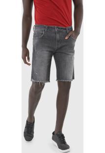 Bermuda Jeans Forum Slim Paul Preta