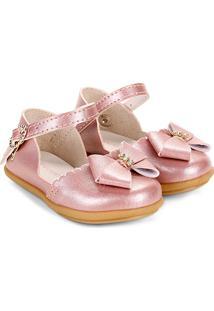 Sapato Infantil Pimpolho Fase Feminino - Feminino-Cobre