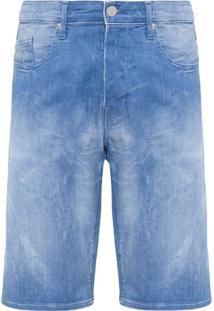 Bermuda Masculina Jeans Waiton - Azul
