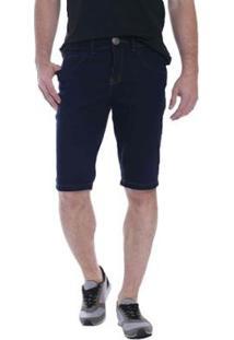 Bermuda Jeans Osmoze Middle Plus Masculina - Masculino-Azul