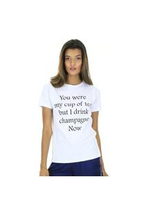 Camiseta Malha Com Silk Aha