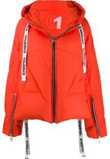 Khrisjoy Oversized Padded Jacket - Laranja