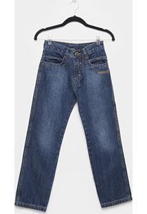 Calça Jeans Juvenil Fatal Reta Masculina - Masculino