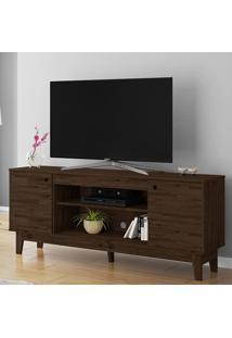 Rack Para Tv Até 60 Polegadas 2 Portas Malibu Rustic - Móveis Germai