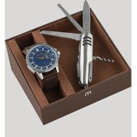 3021213069c CEA. Kit De Relógio Analógico Mondaine Masculino ...