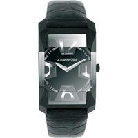 641ca6f67ab Relógio De Pulso Chronotech Diagonal - Aço - Masculino-Prata+Chumbo