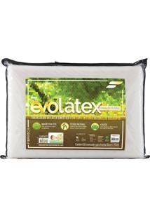 Travesseiro Evolátex Médio Látex - Fibrasca - Bege