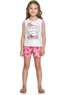 e1a6adadf Pijama Para Menina Festa Moderno infantil