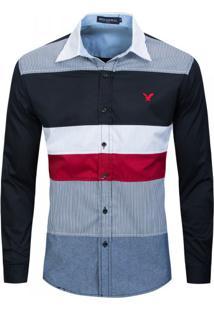 Camisa Social Club Marshall Regular P