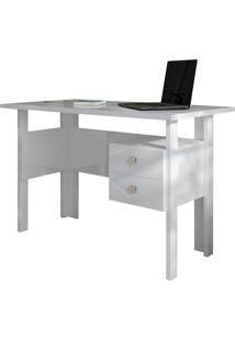 Mesa Para Computador C216 Branco Brilho